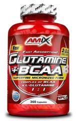 Amix Nutrition L-Glutamine + BCAA 360kapslí