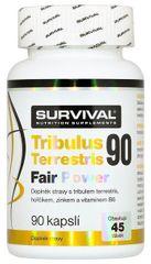 Survival Tribulus Terrestris 90% Fair Power 90kapslí
