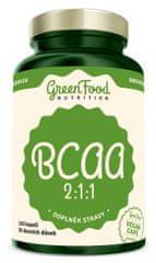 GreenFood BCAA 2:1:1120kapsúl