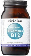 VIRIDIAN nutrition B-Complex B12 High Twelve 90kapslí