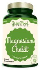 GreenFood Magnesium Chelát vegan 60kapsúl
