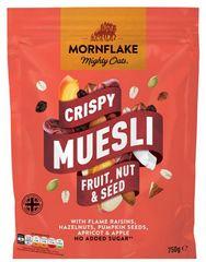 Mornflake Crispy Muesli ovoce, oříšky, semínka 750g