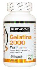 Survival Gelatina 2000 Fair Power 150kapslí