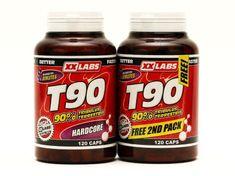 XXlabs Nutrition T90 - Tribulus Terrestris 120kapsúl 1 + 1 ZADARMO