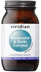 VIRIDIAN nutrition Horseradish & Garlic Complex 90kapsúl