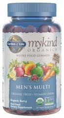 Garden of Life Mykind Organics Multi Gummies pro muže 120kapslí