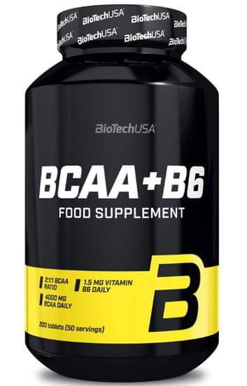 BioTech USA BCAA+B6 200tablet