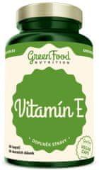 GreenFood Vitamin E vegan 60kapsúl