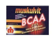 Muskulvit BCAA 4g 20sáčkov