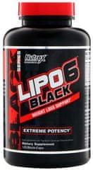Nutrex Lipo 6 Black Weight Loss Support 120 kapslí