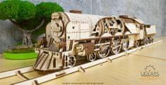 UGEARS V-Express parný vlak s tendrom