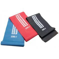 POWER SYSTEM Posilovací guma Flat Strech Band Level 3