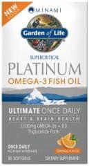 Garden of Life Minami Platinum Omega-3 rybí olej 30kapslí