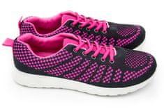 Dámská sportovní obuv černá/růžová