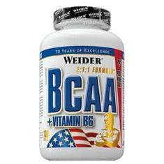 Weider BCAA + Vitamín B6 130 tabliet