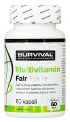 Survival Multivitamin Fair Power 60kapslí