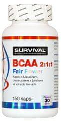 Survival BCAA 2:1:1 Fair Power 150kapslí