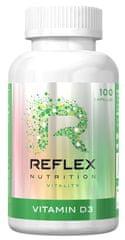 Reflex Nutrition Vitamín D3 100kapsúl