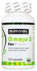 Survival Omega 3 Fair Power 100kapslí
