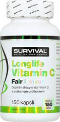 Survival LongLife Vitamin C Fair Power 150kapslí