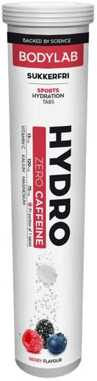 Bodylab Hydro Tabs zero caffeine 20tablet lesní ovoce