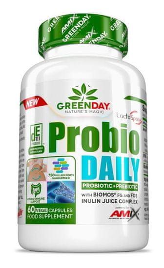 Amix Nutrition GreenDay Probio Daily 60 kapslí