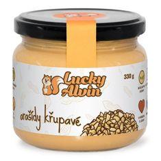 Lucky Alvin Arašídové máslo neochucené 330g