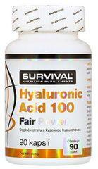 Survival Hyaluronic acid 100 fair power 90kapslí