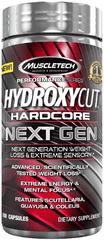MuscleTech Hydroxycut Hardcore Next Gen 100kapslí