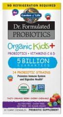 Garden of Life Dr. Formulated organická probiotika pro děti 30tablet