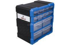 AHProfi Plastový organizér / box na skrutky, 12 zásuviek - MW1507 | AHProfi