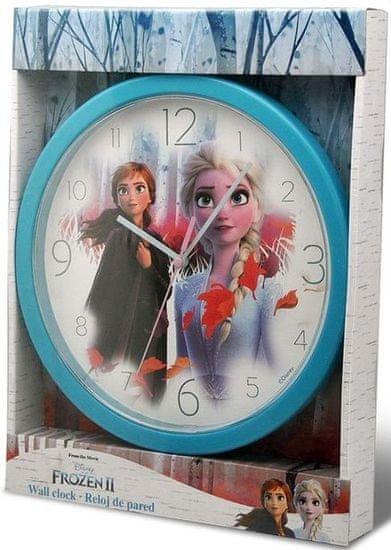 EUROSWAN Nástěnné hodiny Frozen 2 25cm