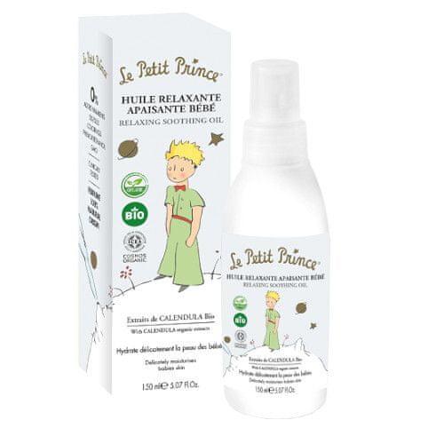 Le Petit Prince Relaxačný masážny olej pre deti s výťažkami z nechtíka (Relaxing Soothing Oil) 150 ml