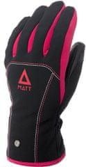 Matt 3199JR Patricia Junior Gore-Tex dječje skijaške rukavice, crno-roza