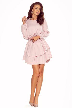 Numoco Női ruha 289-1 Mattie, vén rózsaszín, XL