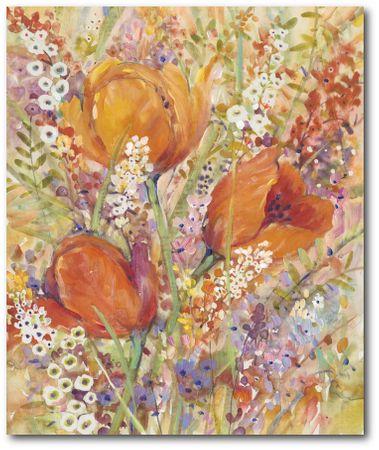 Courtside Market Jarní květy I - 50 X 40 cm