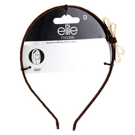 Elite Models Trak za glavo s trakom, kovinsko rjava