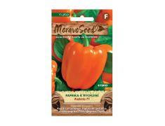 MORAVOSEED Paprika zeleninová KUBISTA F1 do skleníku oranžová