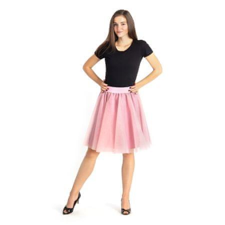 Cheremyha Tylová tutu sukně - M, starorůžová