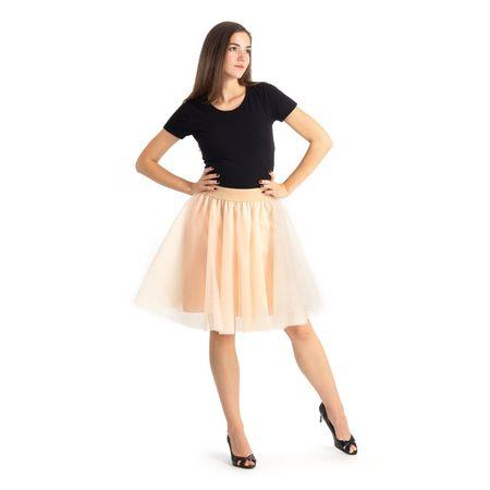 Cheremyha Tylová tutu sukně - M, meruňková