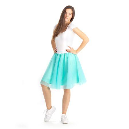 Cheremyha Tylová tutu sukně - S, mint