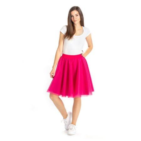 Cheremyha Tylová tutu sukně - cyklamenová