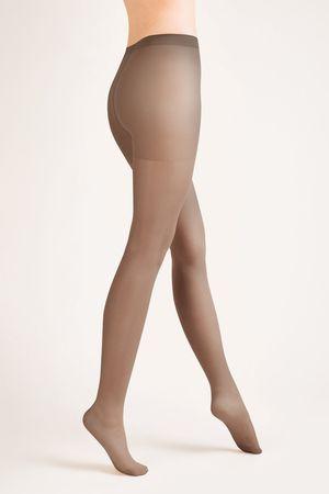 Gabriella Női harisnya 105 classic muscade + Nőin zokni Gatta Calzino Strech, többszínű, 4