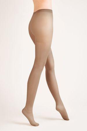 Gabriella Női harisnya 105 classic plus visone + Nőin zokni Gatta Calzino Strech, visione, 5
