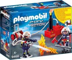 Playmobil gasilci z vodno črpalko (9468)