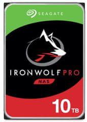 Seagate IronWolf PRO 10 TB, SATA 6 Gb/s, 256 MB, 7200 trdi disk