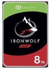 Seagate IronWolf 8 TB , SATA 6 Gb/s, 256 MB, 7200 trdi disk