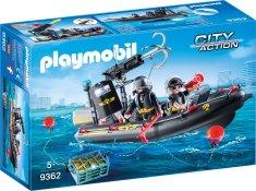 Playmobil čoln taktične enote (9362)