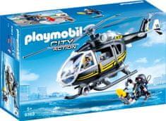 Playmobil helikopter taktične enote (9363)