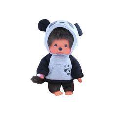 Monchhichi Mončiči chlapec Panda 20cm